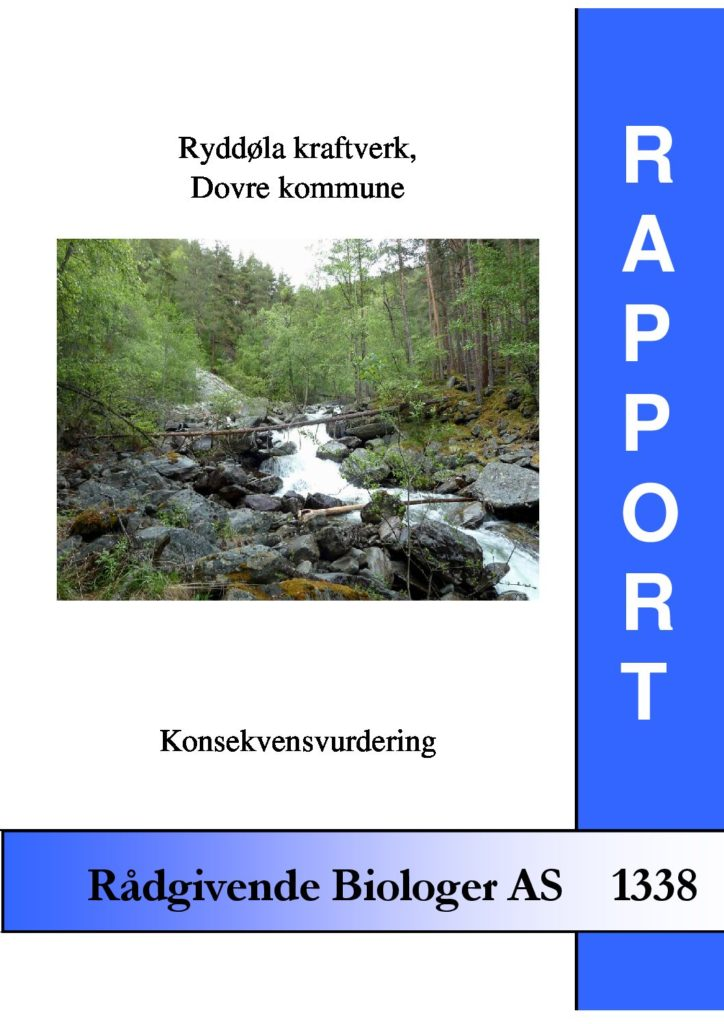 Rapport cover - rapport 1338