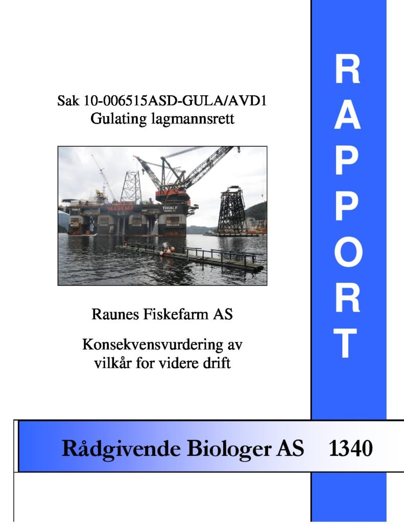 Rapport cover - rapport 1340