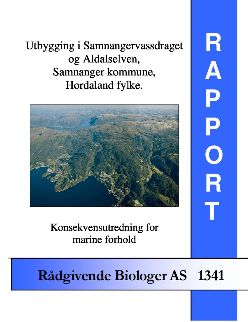 Rapport cover - rapport 1341