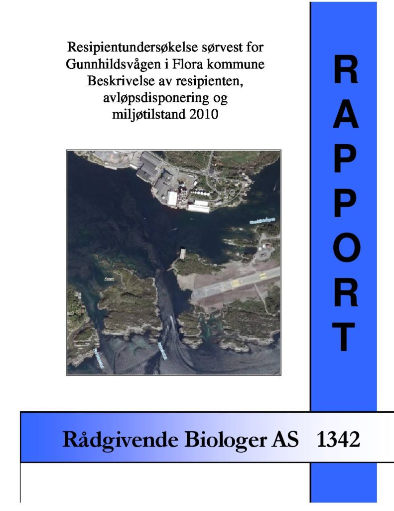 Rapport cover - rapport 1342