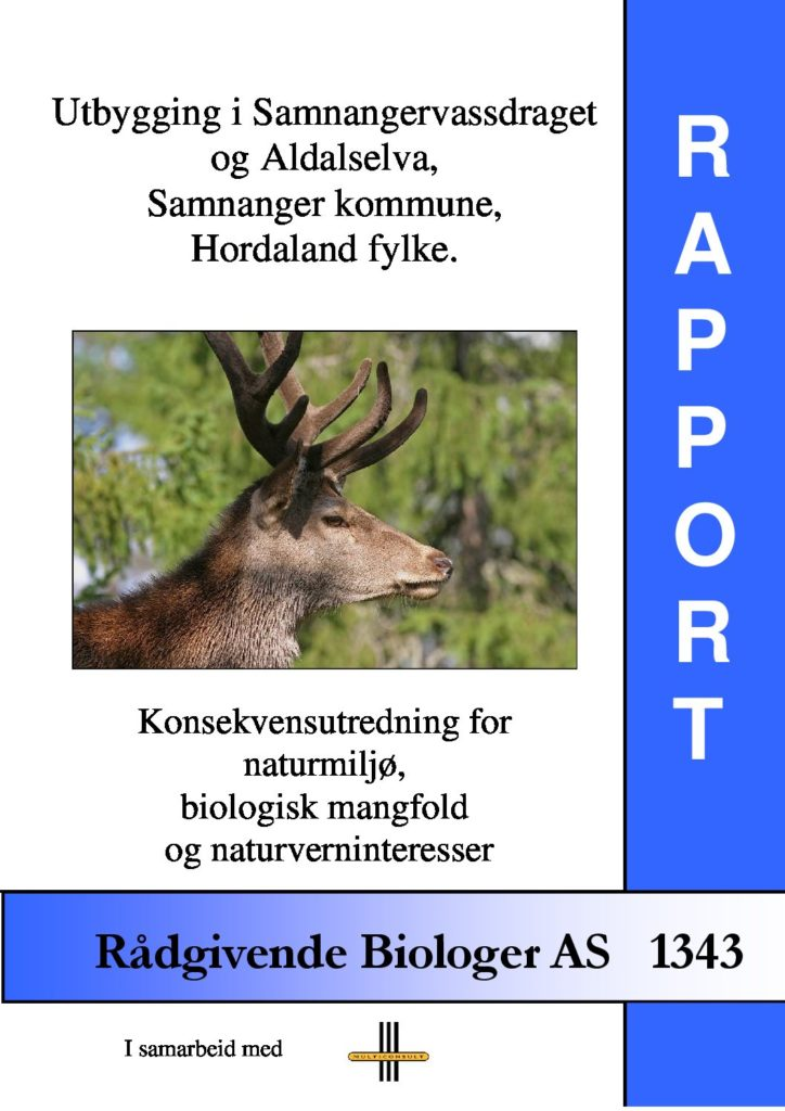 Rapport cover - rapport 1343