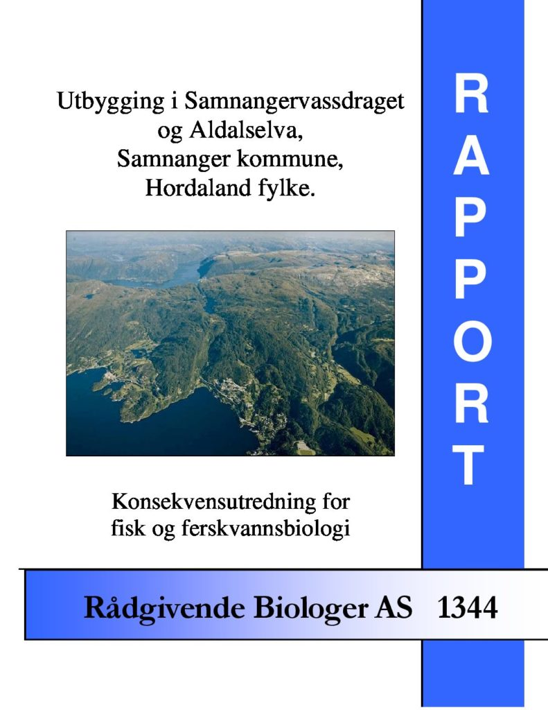 Rapport cover - rapport 1344