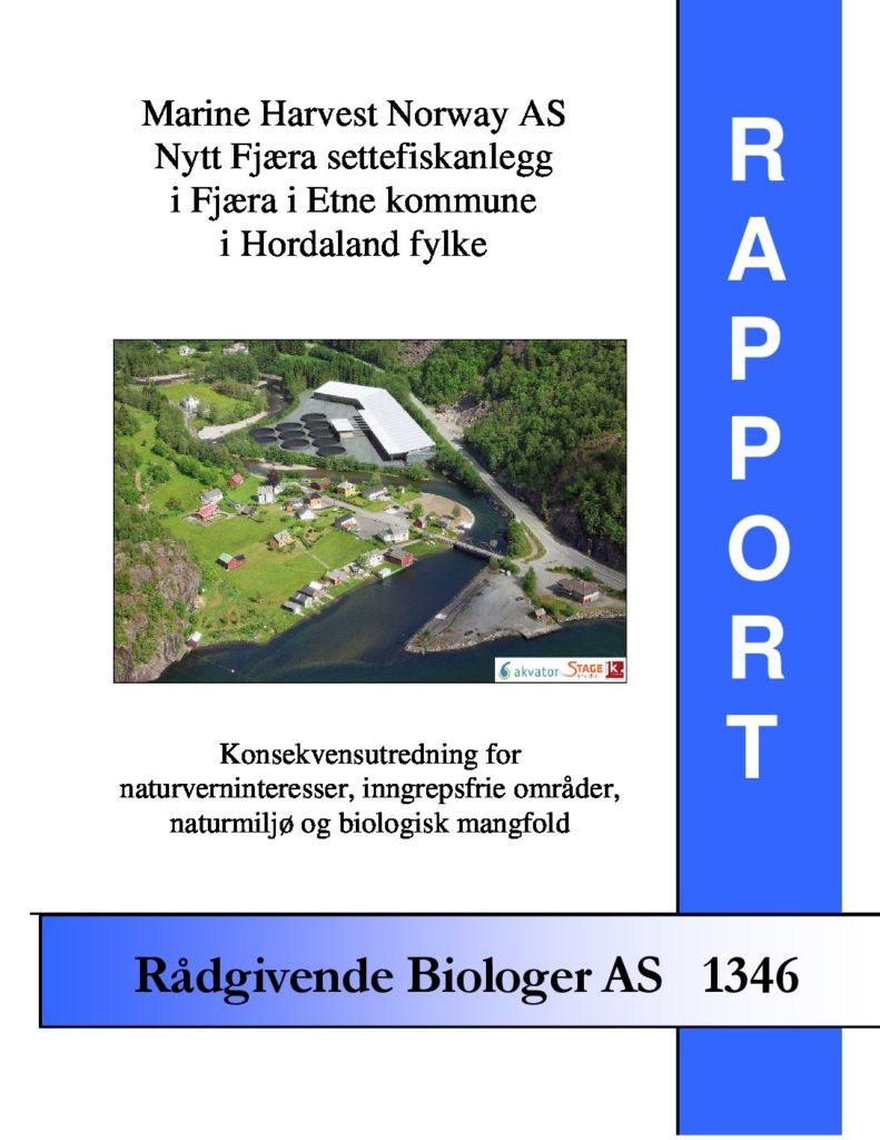 Rapport cover - rapport 1346