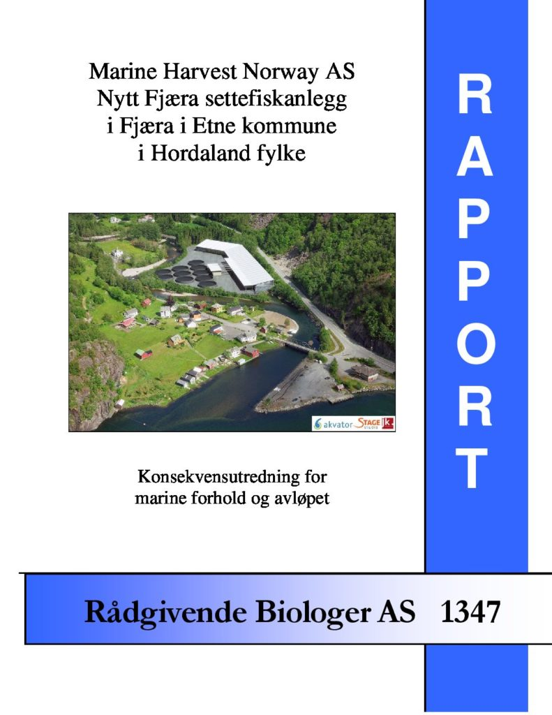 Rapport cover - rapport 1347