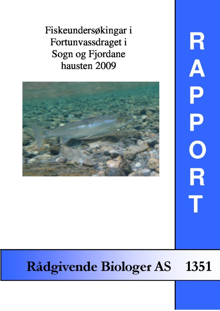 Rapport cover - rapport 1351