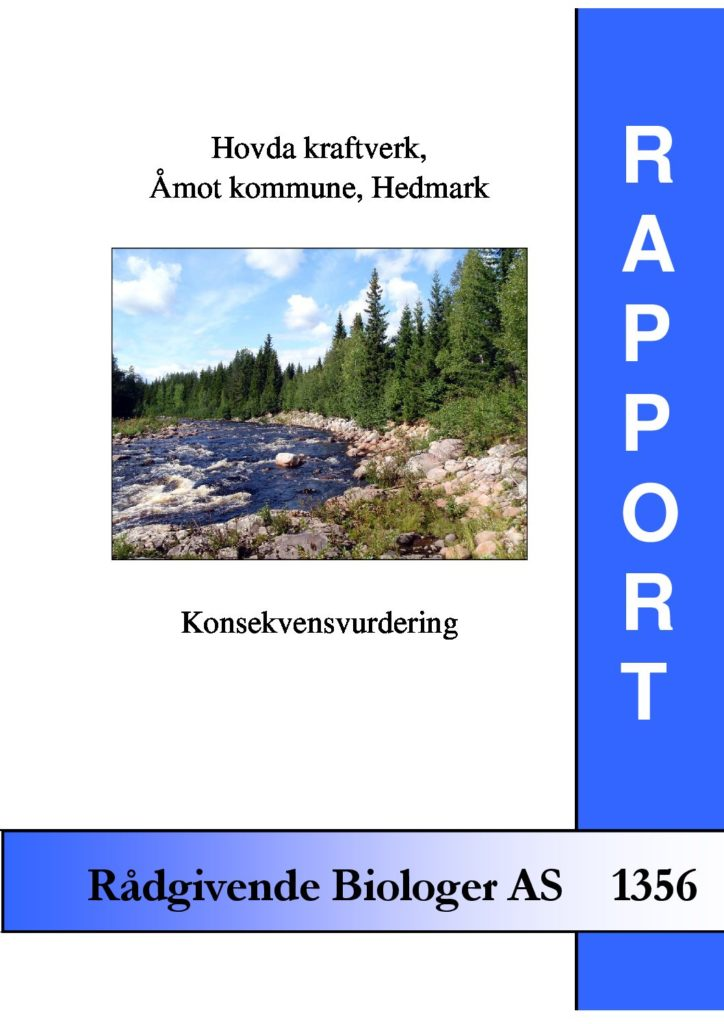 Rapport cover - rapport 1356