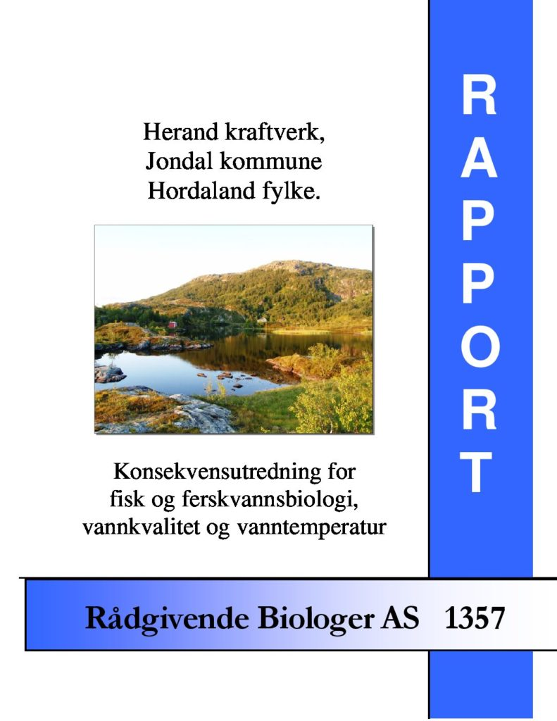Rapport cover - rapport 1357