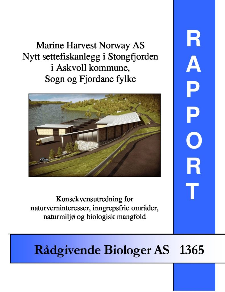 Rapport cover - rapport 1365