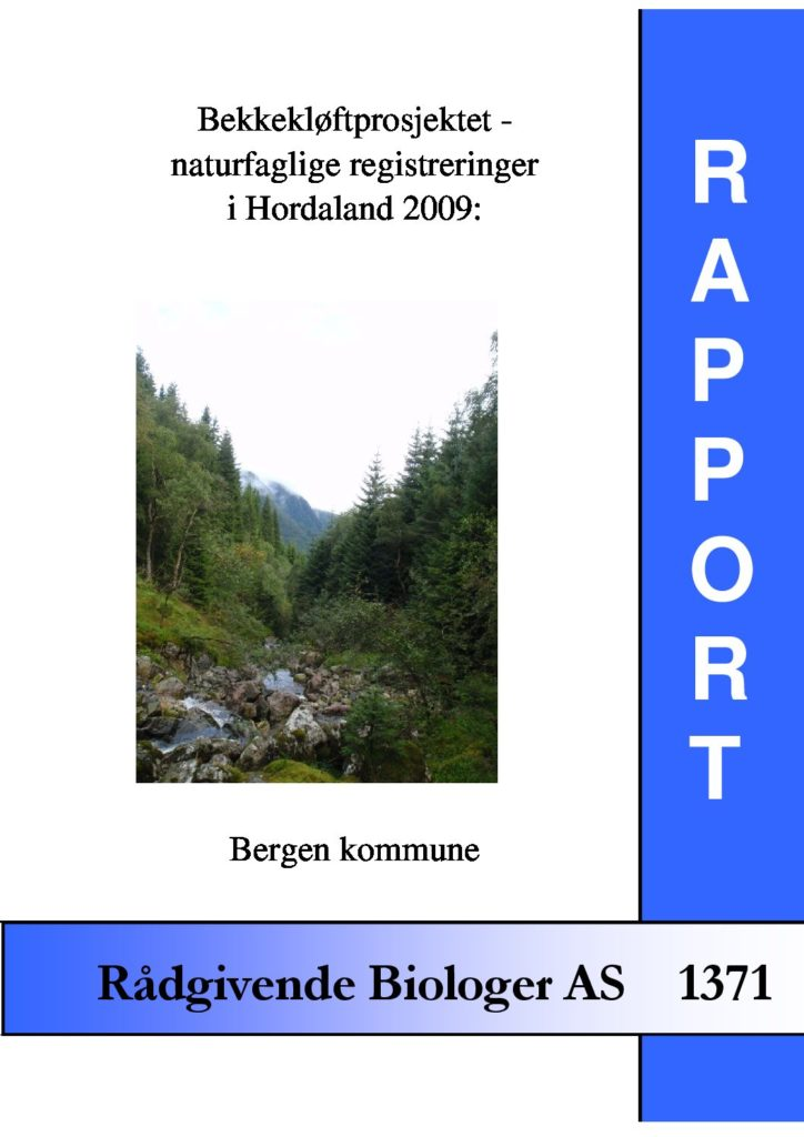 Rapport cover - rapport 1371