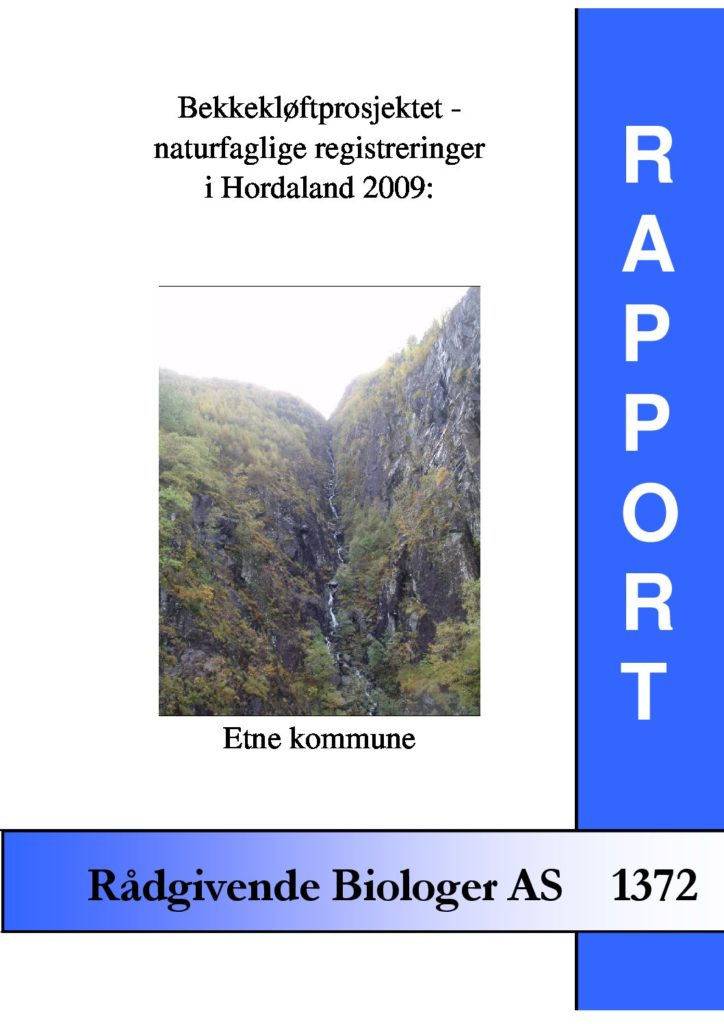 Rapport cover - rapport 1372