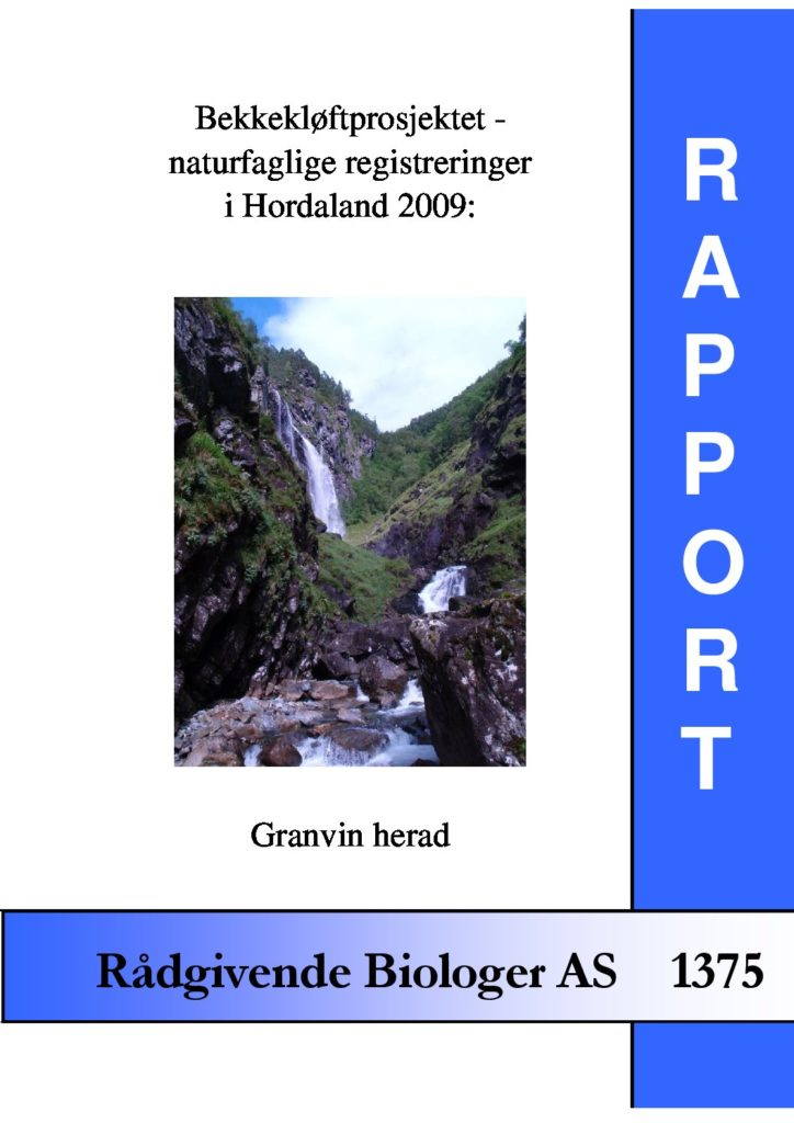 Rapport cover - rapport 1375