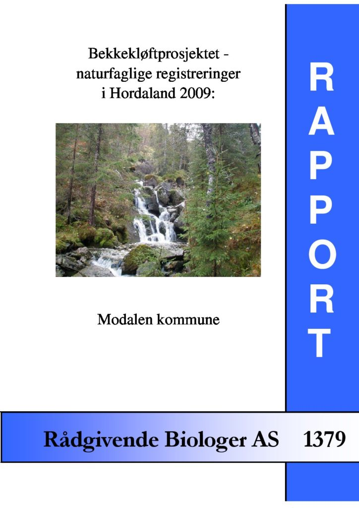 Rapport cover - rapport 1379