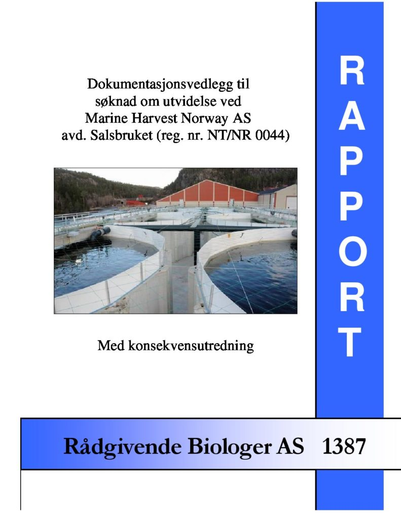 Rapport cover - rapport 1387