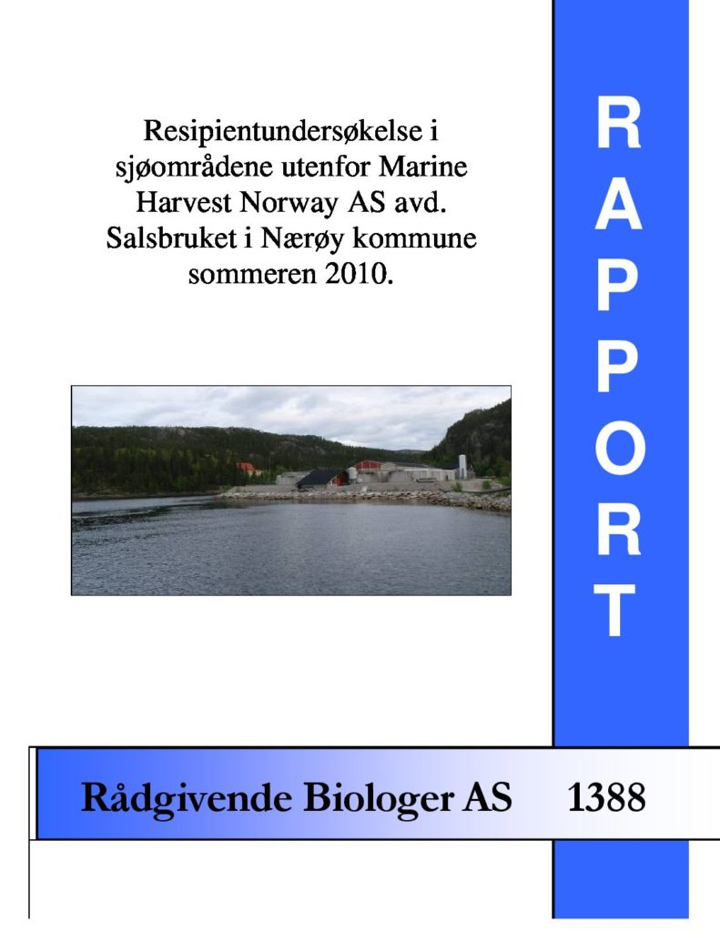Rapport cover - rapport 1388