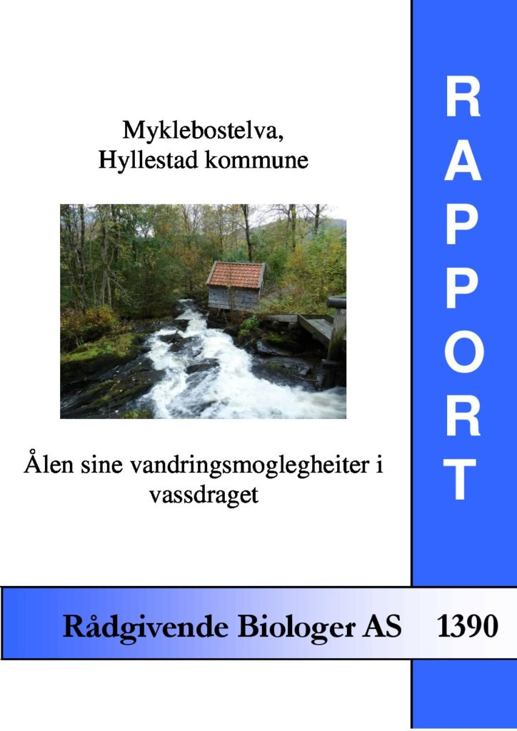 Rapport cover - rapport 1390