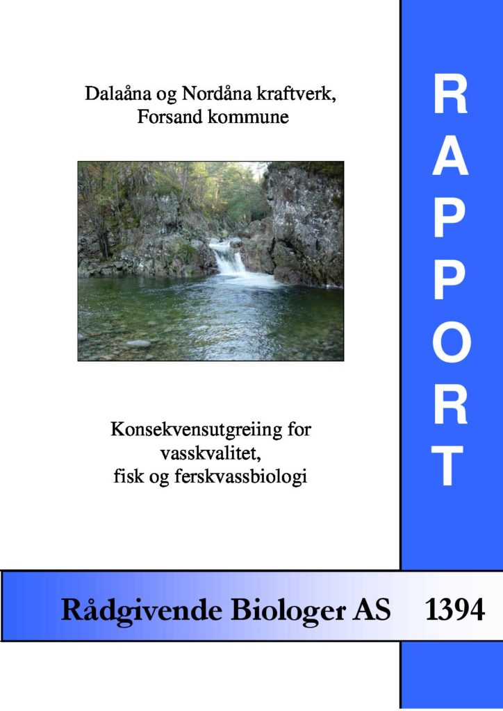 Rapport cover - rapport 1394