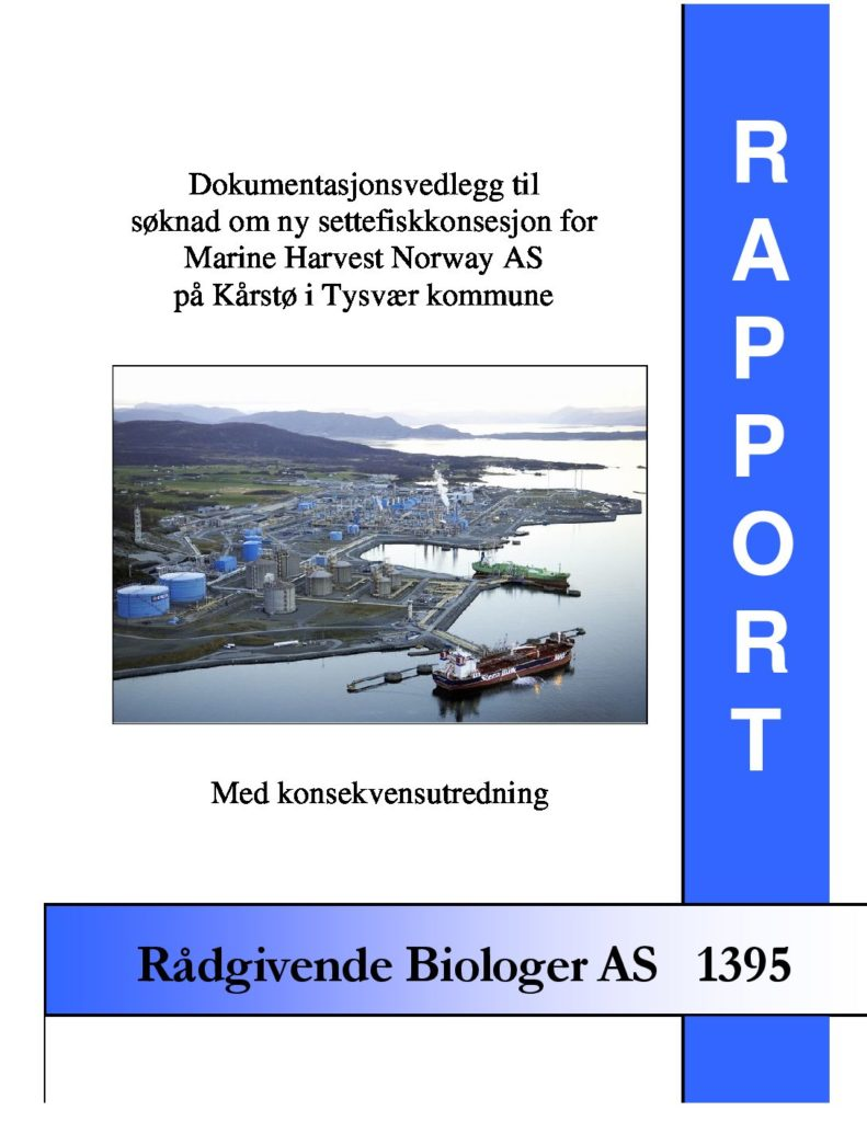 Rapport cover - rapport 1395