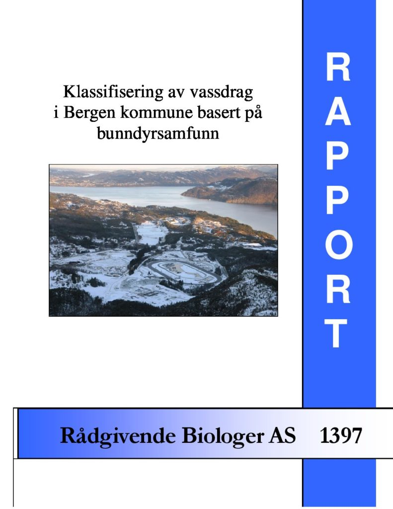 Rapport cover - rapport 1397