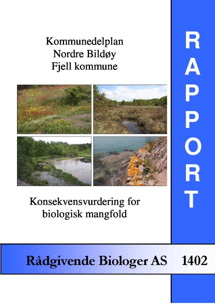 Rapport cover - rapport 1402