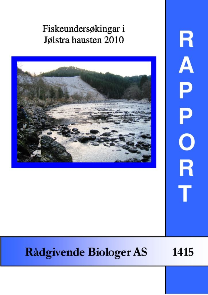 Rapport cover - rapport 1415