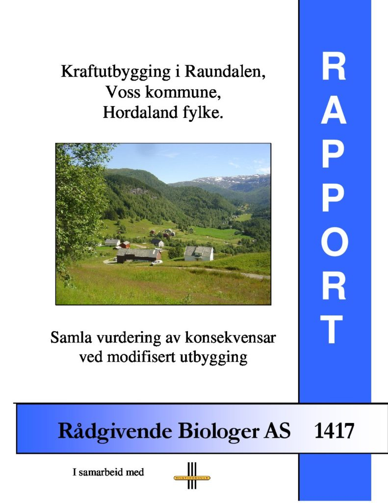 Rapport cover - rapport 1417