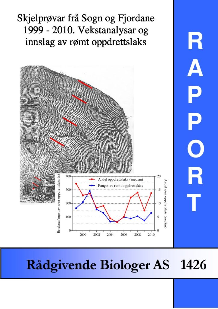 Rapport cover - rapport 1426