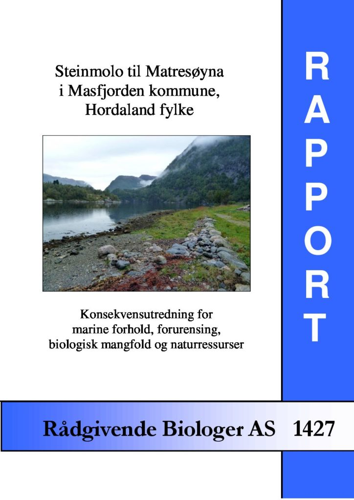 Rapport cover - rapport 1427