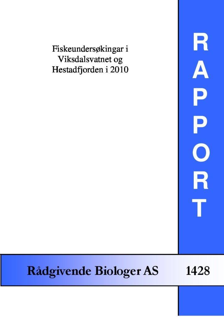 Rapport cover - rapport 1428