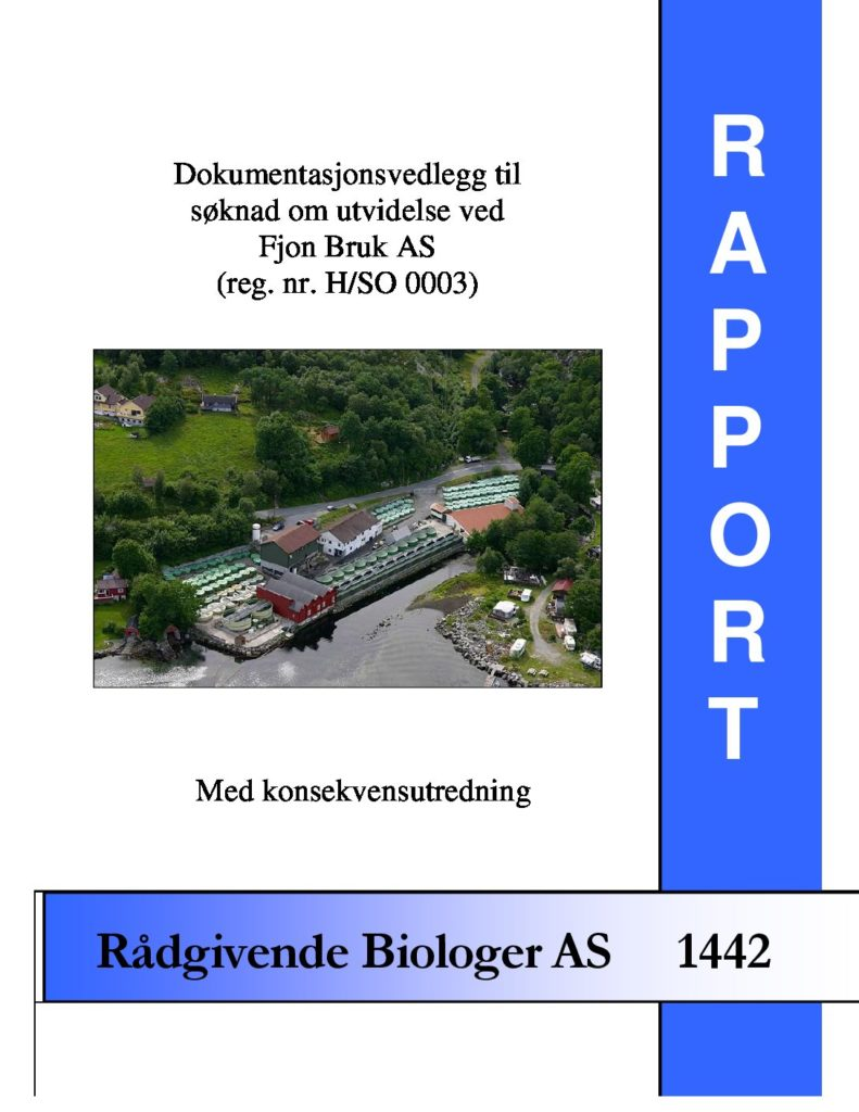 Rapport cover - rapport 1442
