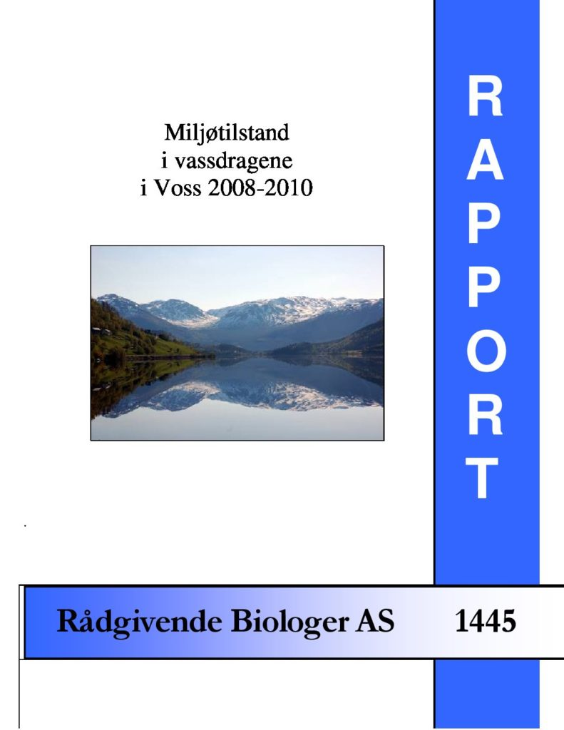 Rapport cover - rapport 1445