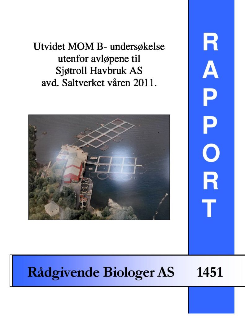 Rapport cover - rapport 1451