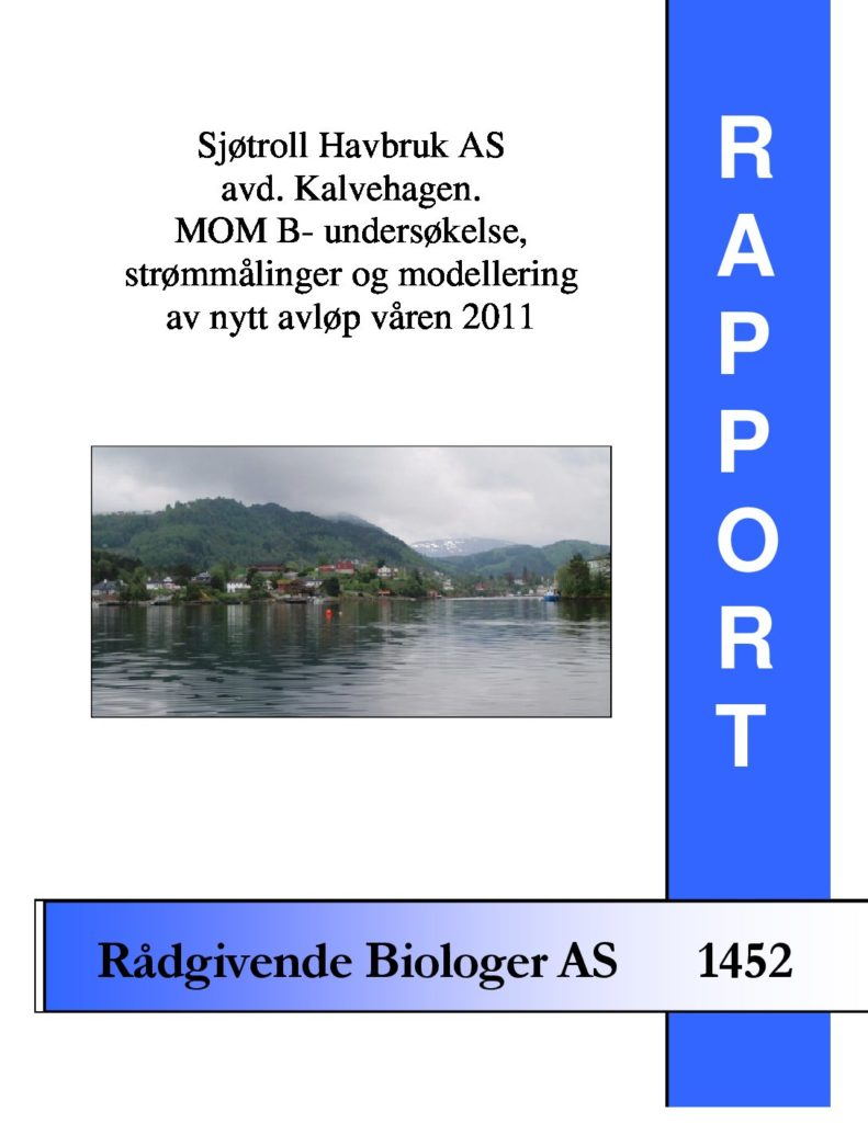 Rapport cover - rapport 1452