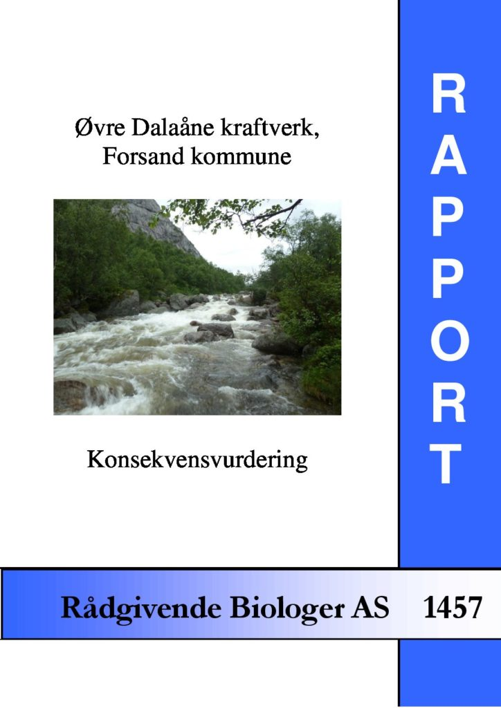 Rapport cover - rapport 1457