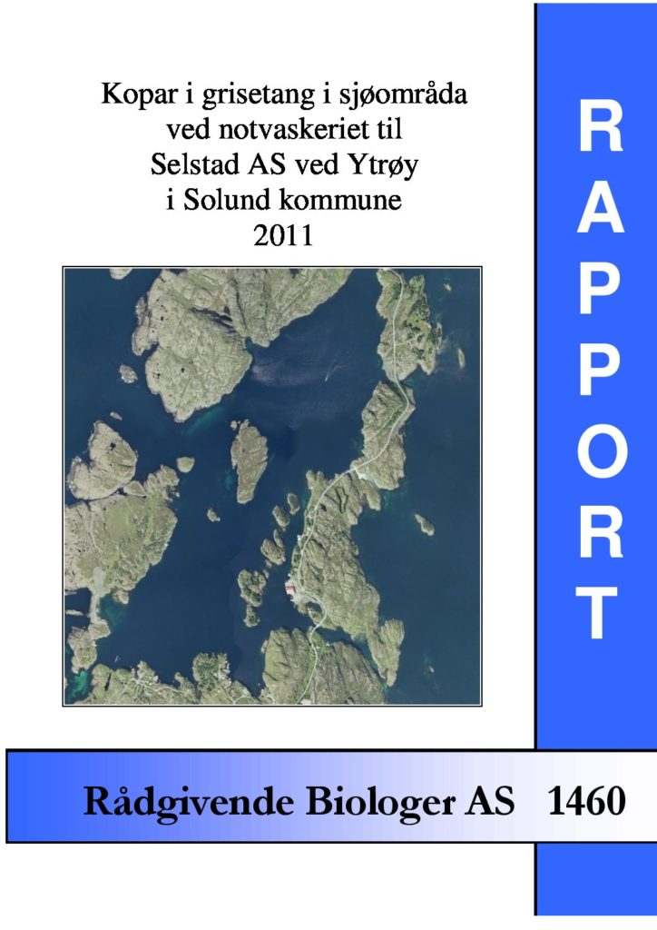 Rapport cover - rapport 1460