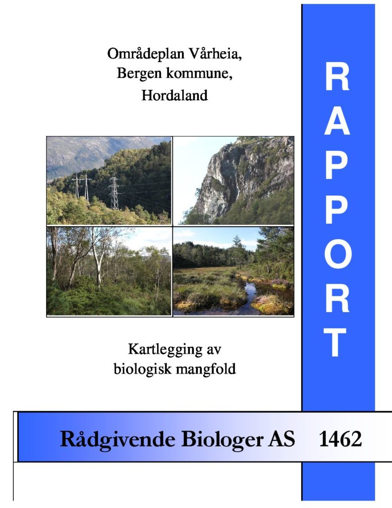 Rapport cover - rapport 1462