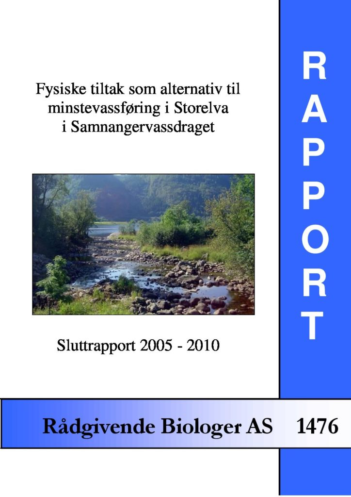 Rapport cover - rapport 1476