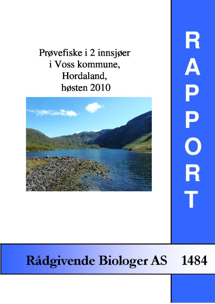 Rapport cover - rapport 1484