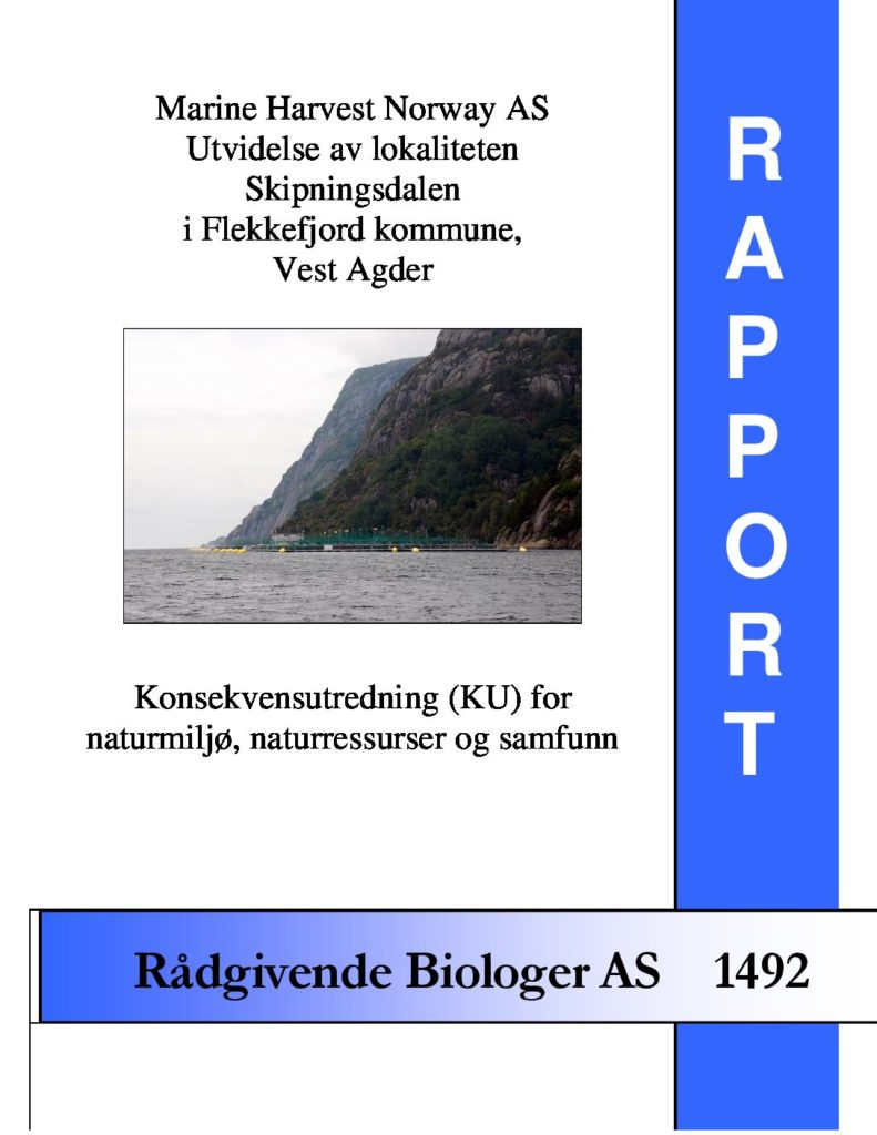 Rapport cover - rapport 1492