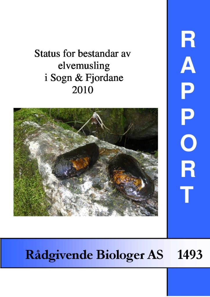 Rapport cover - rapport 1493