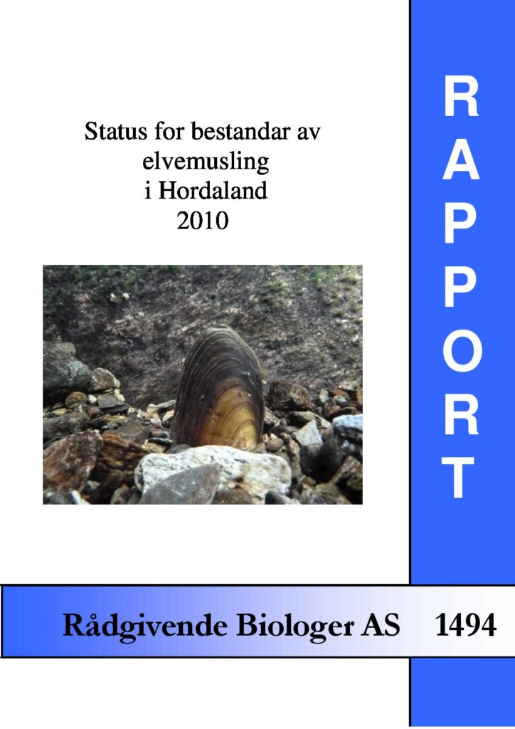 Rapport cover - rapport 1494