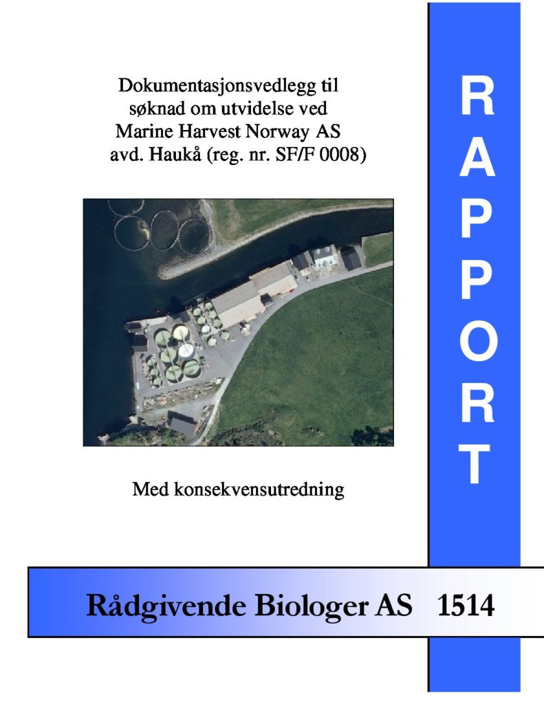 Rapport cover - rapport 1514