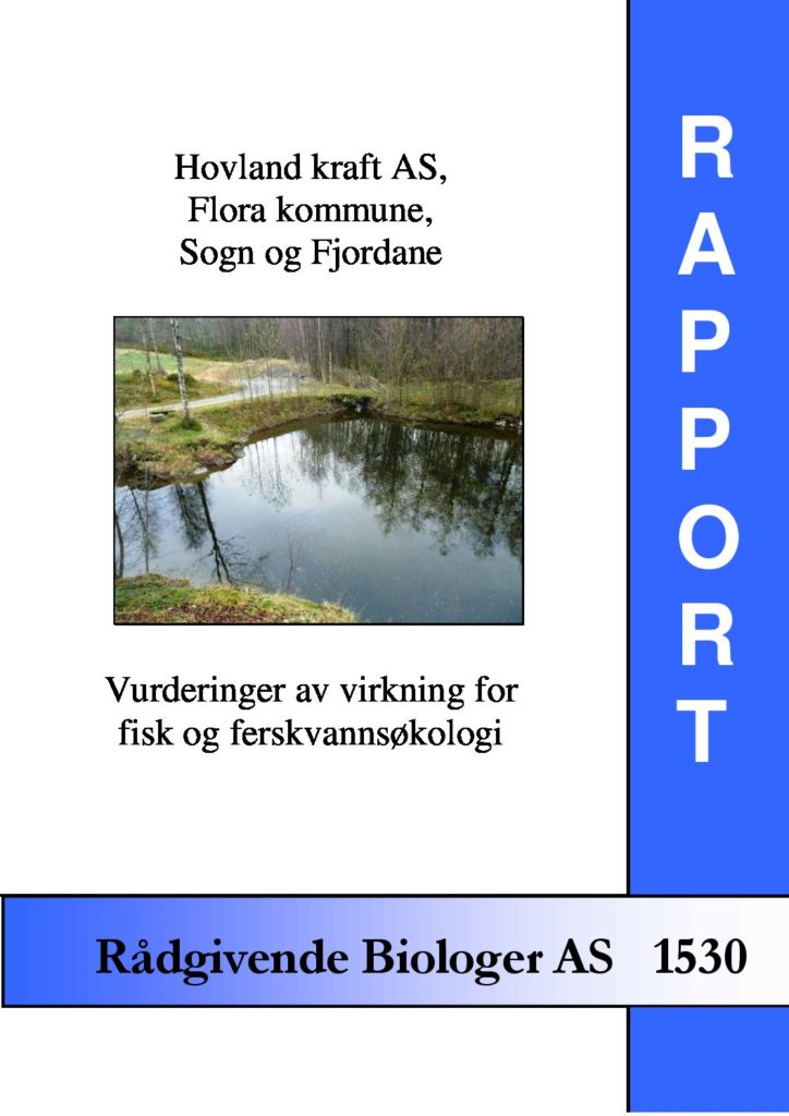 Rapport cover - rapport 1530