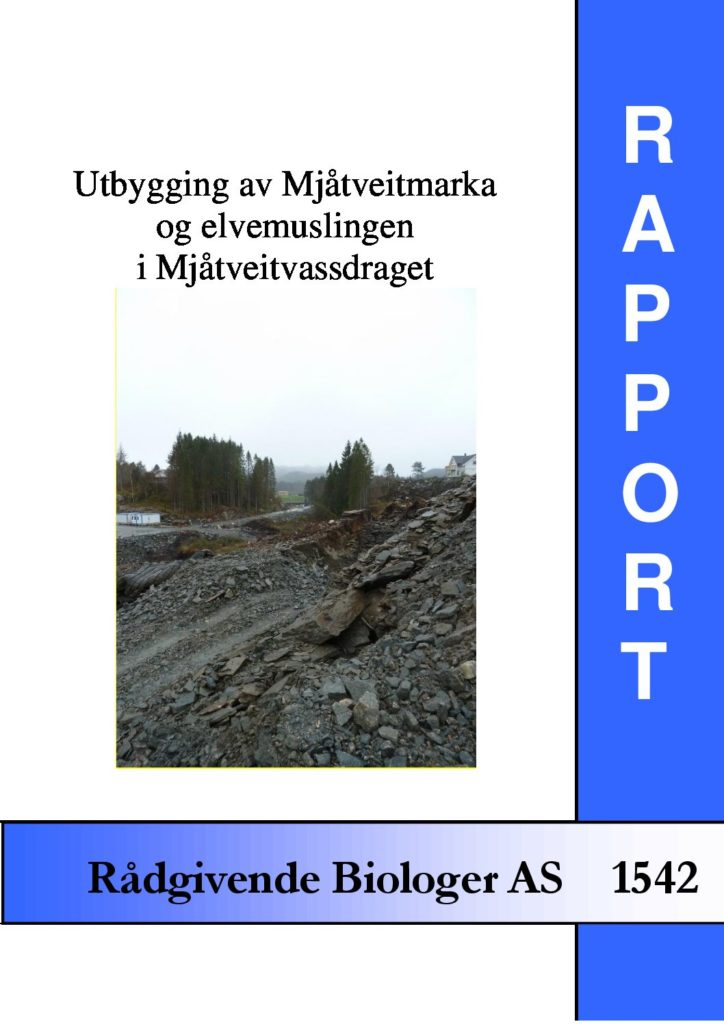 Rapport cover - rapport 1542