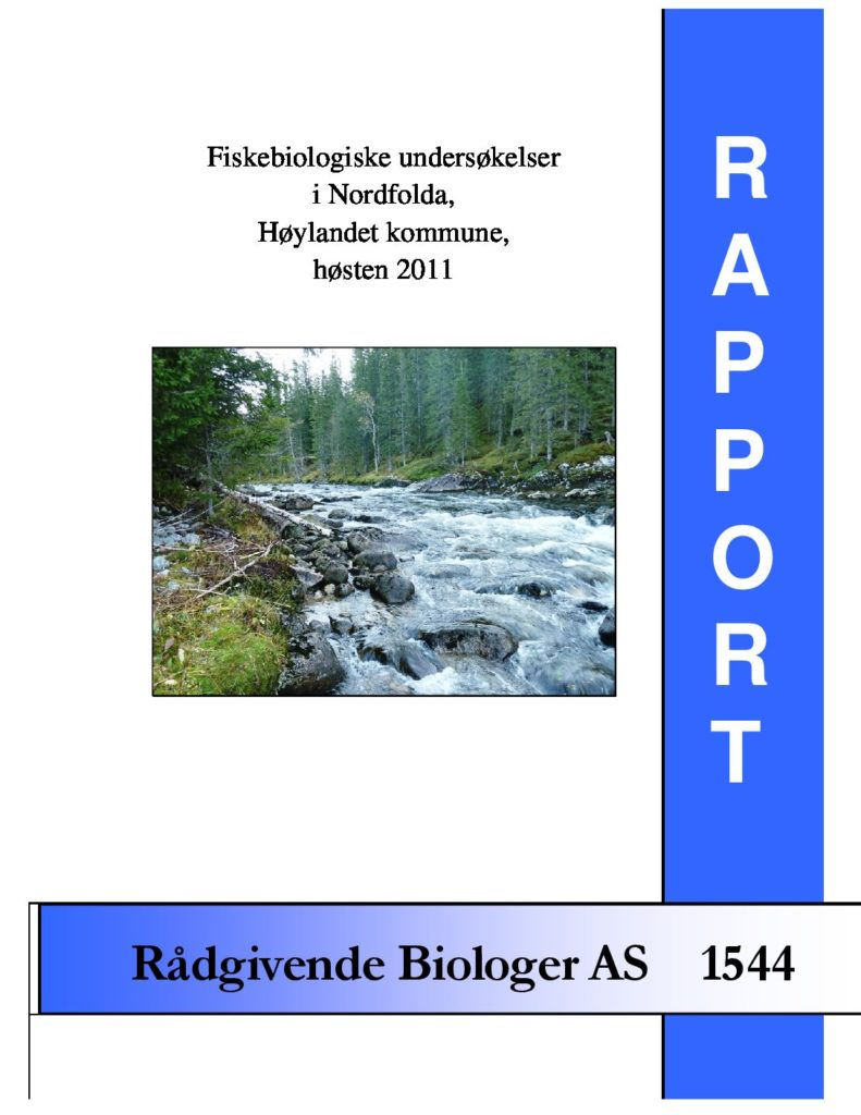 Rapport cover - rapport 1544