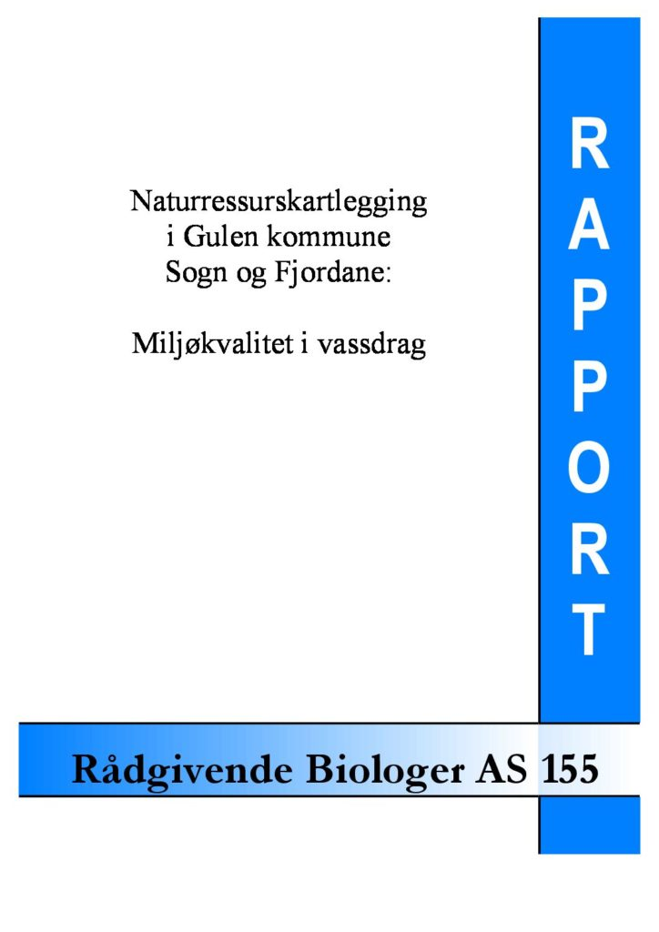 Rapport cover - rapport 155