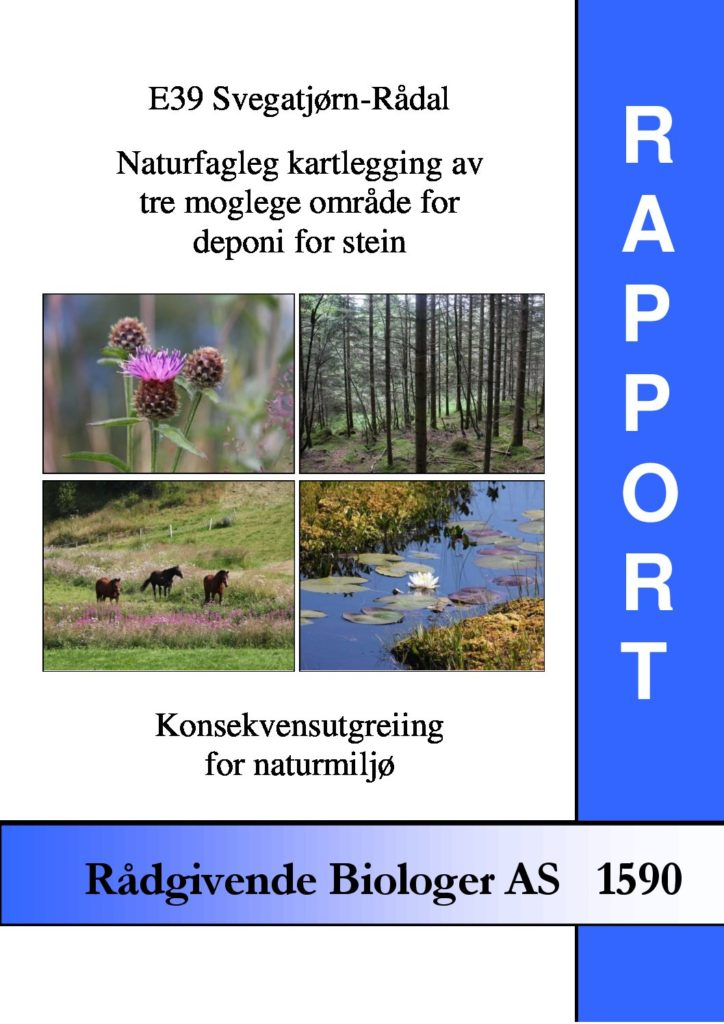 Rapport cover - rapport 1590