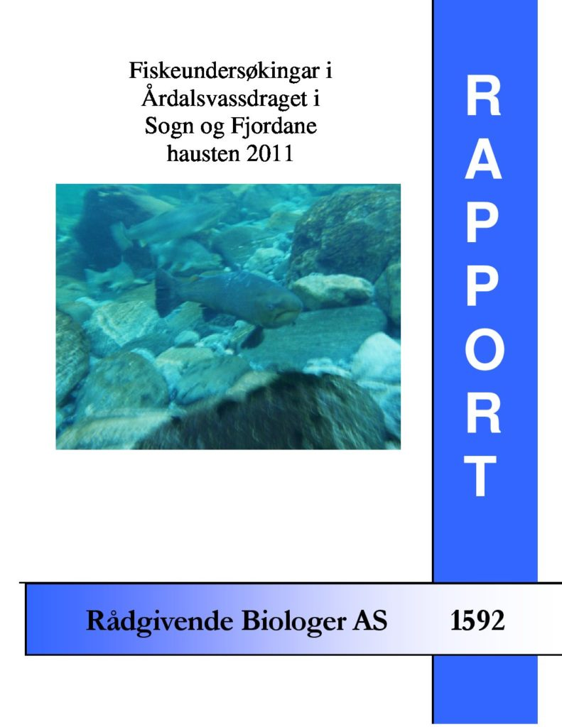 Rapport cover - rapport 1592