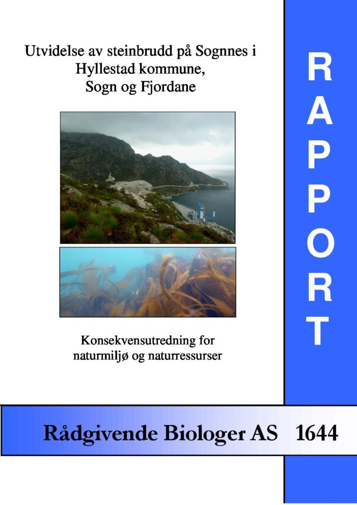 Rapport cover - rapport 1644