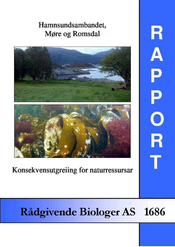 Rapport cover - rapport 1686