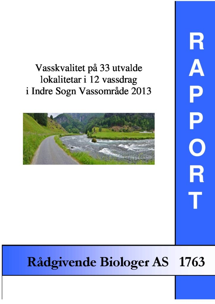 Rapport cover - rapport 1763